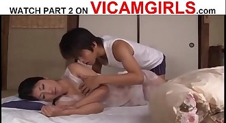 Japanese Mom And Son - Watch Part 2 On VICAMGIRLS.com