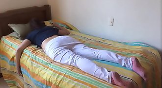 Teenager sister fucked while sleeping
