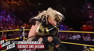 WWE Raw hook-up fuck Stunning in-ring proposals  WWE Top 10  Nov. 27  2