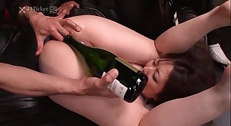 41Ticket - Big-titted Kaoru Hirayama Ass & Mouth Rekt in 3some (Uncensored JAV)