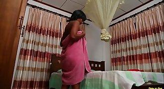 Sexy Black Sharmi Kumar from Sri Lanka Forced Sex by Thief